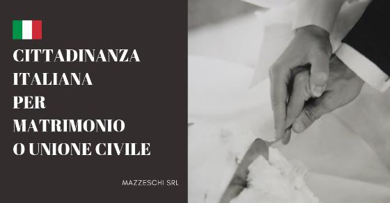 cittadinanza italiana per matrimonio o unione civile On cittadinanza italiana per matrimonio tempi di attesa 2017